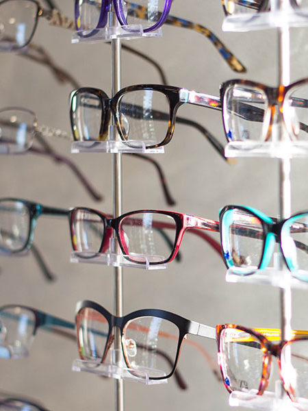 glasses store display