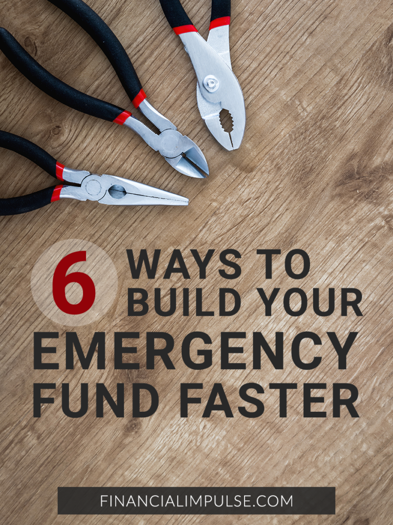 6 Practical Ways to Build Up Your Emergency Fund Faster