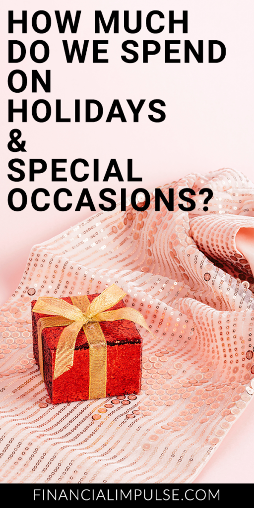 How Much Do We Spend on Holidays and Special Occasions?