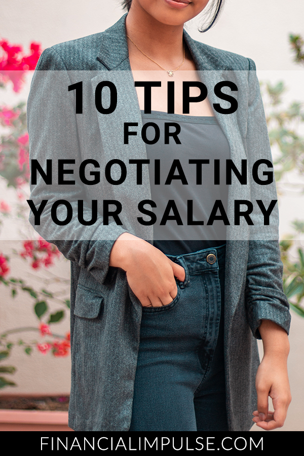 10 Tips for Negotiating Your Salary
