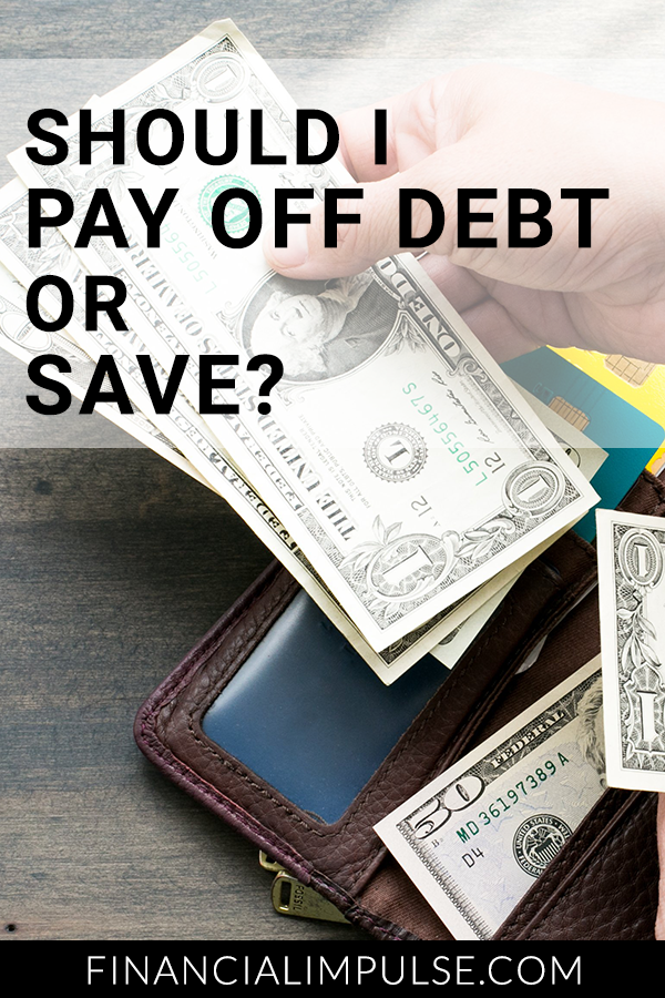 Should I Pay Off Debt or Save?