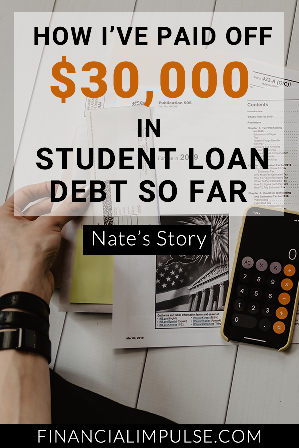 How I've Paid Off $30k in Student Loan Debt So Far