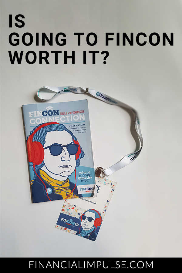 Is going to FinCon worth it? Pinterest banner