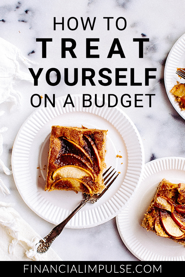 How to Treat Yourself on a Budget Pinterest banner