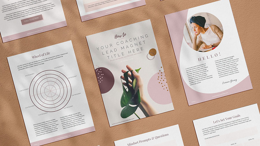 branding and graphic design materials